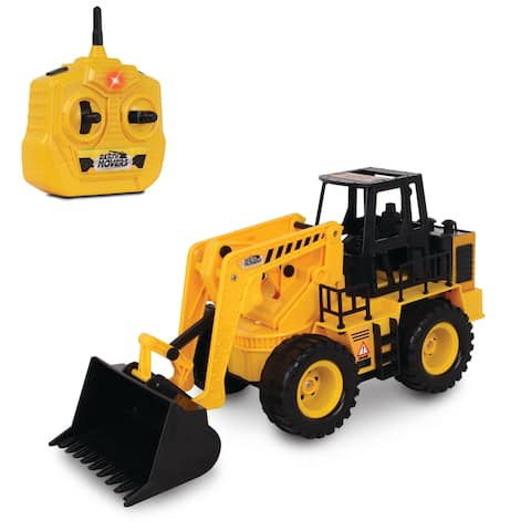 NKOK Earth Movers RC Wheel Loader Toy Vehicle