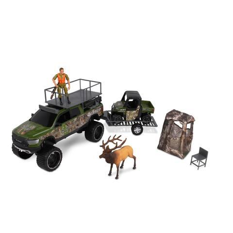 NKOK RealTree 1 18 Scael Deluxe Dodge RAM 1500 Rebel & Polaris Ranger Elk Hunting