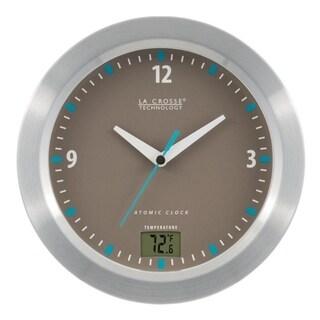 La Crosse Technology WT-3108-BBB 7.5 inch Water Resistant Atomic Clock