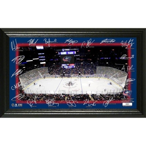 Columbus Blue Jackets 2019 Signature Rink