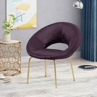 Deals on Christopher Knight Home Pincay Modern Glam Velvet Accent Chair