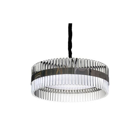 Large Dining Room Drum Pendant for over the Table by Lucas McKearn