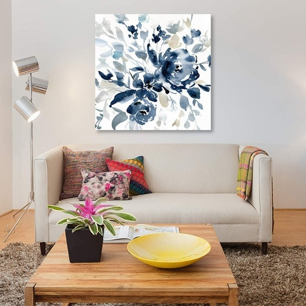 "iCanvas ""Indigo Garden I"" by Carol Robinson Gallery-Wrapped Canvas Print"