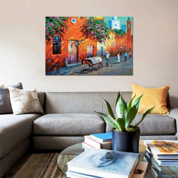 "iCanvas ""Mexican Caslle"" by Dmitry Spiros Gallery-Wrapped Canvas Print"