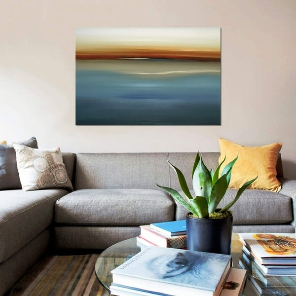 """iCanvas """"Beside the Blue II"""" by Lisa Ridgers Gallery-Wrapped Canvas Print"""