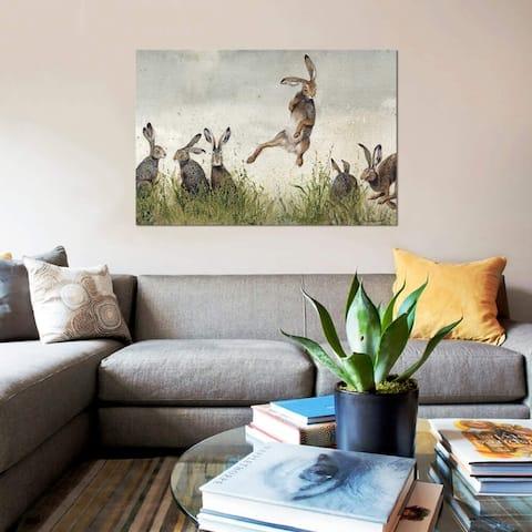 "iCanvas ""Hijinx"" by Maggie Vandewalle Gallery-Wrapped Canvas Print"