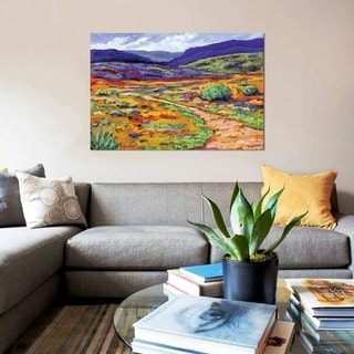 """iCanvas """"New Mexico Landscape"""" by Patty Baker Gallery-Wrapped Canvas Print"""
