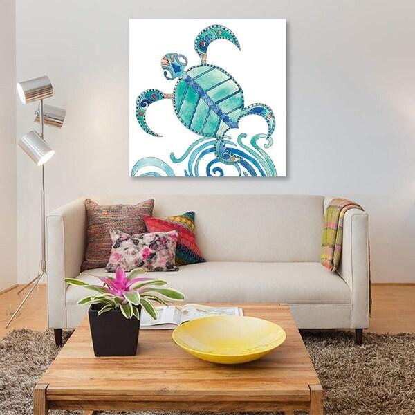 "iCanvas ""Undersea Luau III"" by Alicia Ludwig Gallery-Wrapped Canvas Print"