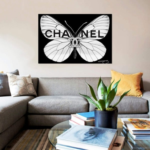 """iCanvas """"Fly As CC"""" by Studio One Gallery-Wrapped Canvas Print"""