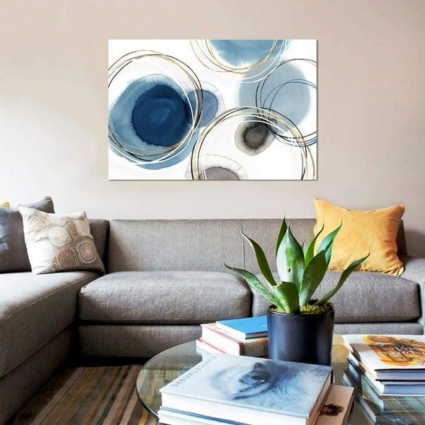 "iCanvas ""Infinity Indigo I "" by Isabelle Z Gallery-Wrapped Canvas Print"