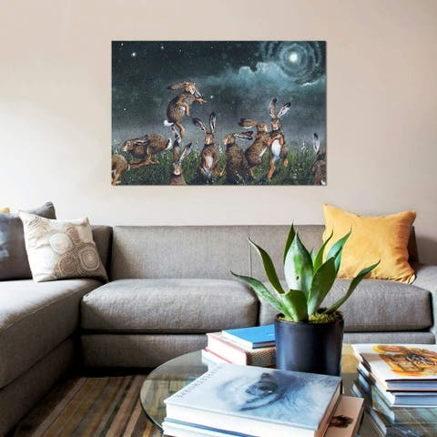 "iCanvas ""Moondance"" by Maggie Vandewalle Gallery-Wrapped Canvas Print"