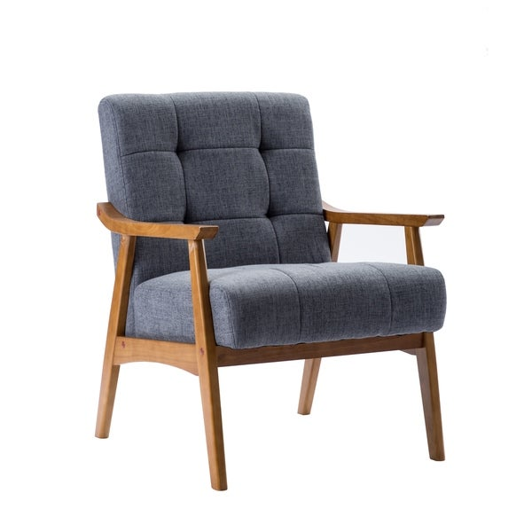 Carson Carrington Ingerod Hemp Upholstery Accent Slipper Chair. Opens flyout.