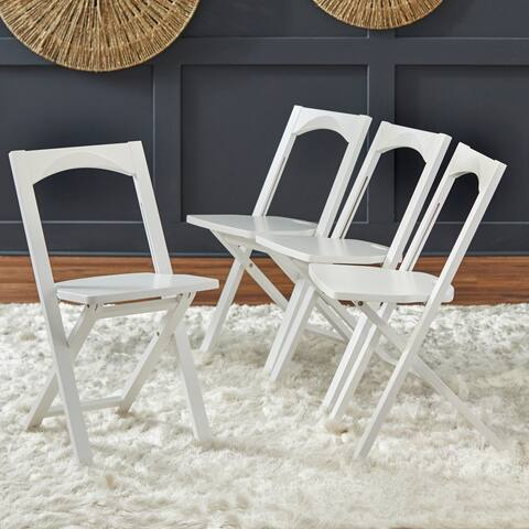 Simple Living Bonus Folding Chairs (Set of 4)