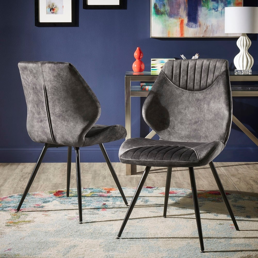 2-Pack iNSPIRE Q Modern Bannantine Dining Chairs