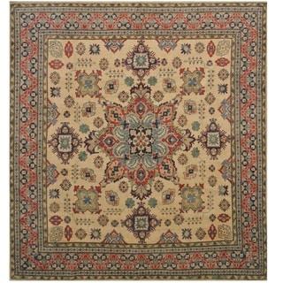 Handmade One-of-a-Kind Kazak Wool Rug (Afghanistan) - 9'8 x 10'4