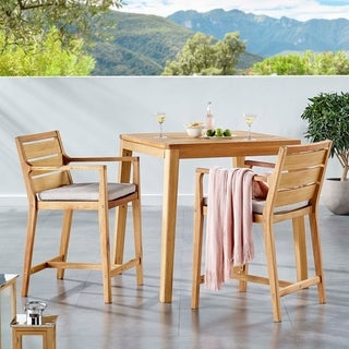 Portsmouth Outdoor Patio Karri Wood Bar Set