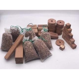 Aromatic Cedar Closet Combo, 60 Pieces-