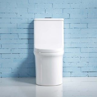 Thena Dual-Flush Vitreous China One-Piece Toilet