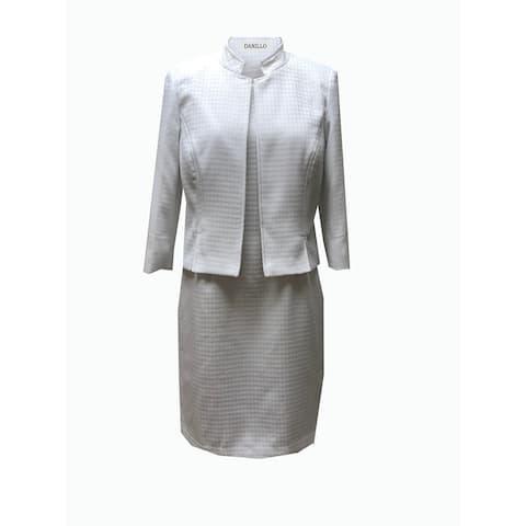 Danillo Missy Dress Suit style 405396 white