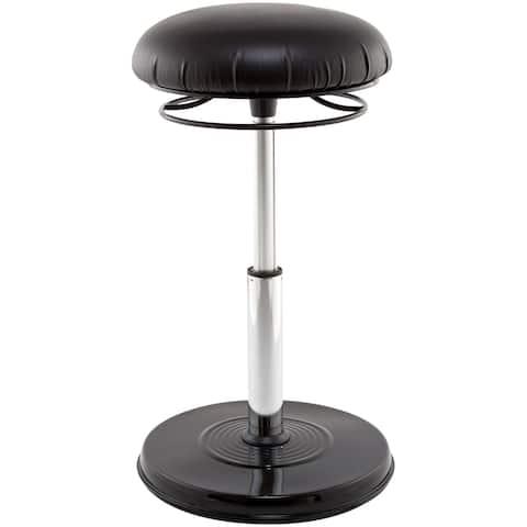 "Kore Design Office PLUS Everyday Adjustable Chair 18.5-26.75"" Black"