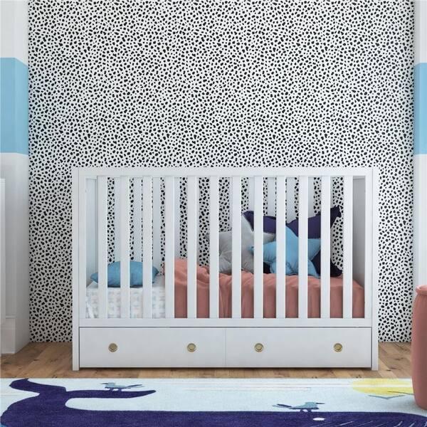 Shop Novogratz Rue 3-in-1 Convertible Baby crib with Storage ...