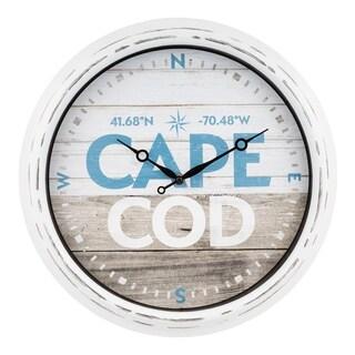 """La Crosse Clock 404-3840MA 15.75"""" Indoor/Outdoor Massachusetts Clock"""