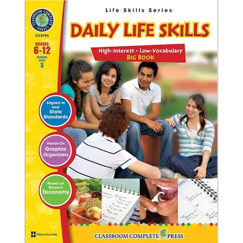 Classroom Complete Press Life Skills Series Daily Life Skills Big Book