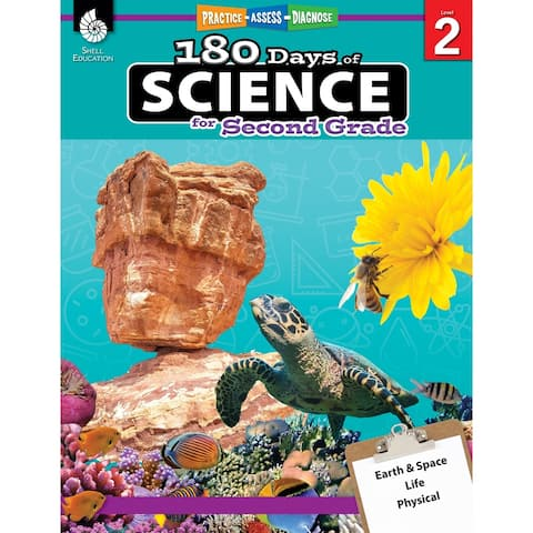 Shell Education 180 Days of Science, Grade 2