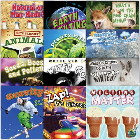 Teacher Created Resources My Science Library, Grade 2-3, Set of 12