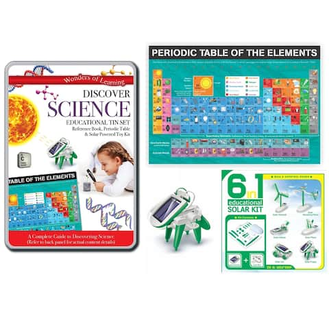 Wonders of Learning Discover Science Education Tin Set