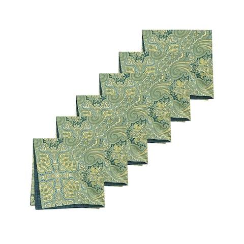 Kashmir Paisley Napkin Set of 6 - 20 x 20