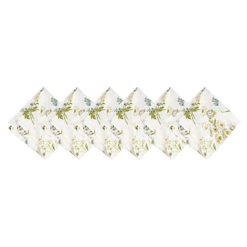 Wildflower Napkin Set of 6 - 20 x 20