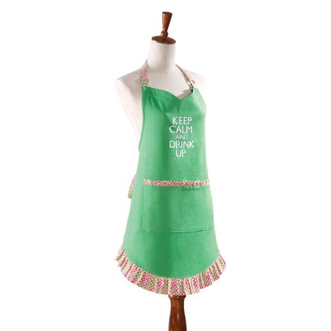 Drink Up Apron - 29 x 31