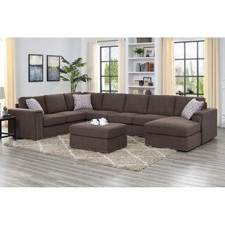Modular Sectional With Ottoman