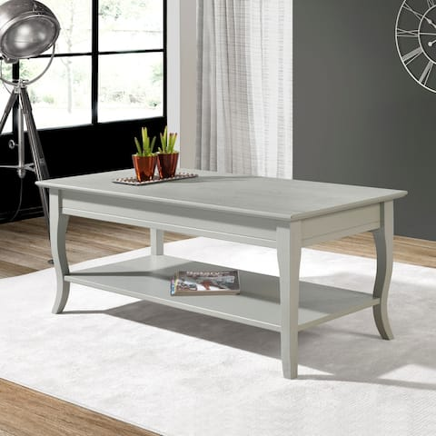 Portland Solid Wood Coffee Table