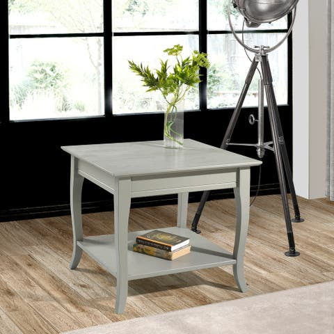 Copper Grove Olry Solid Wood End Table