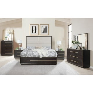 Strick & Bolton Proudhon Espresso 6-piece Bedroom Set