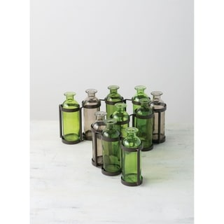 Ten Bottle Vase
