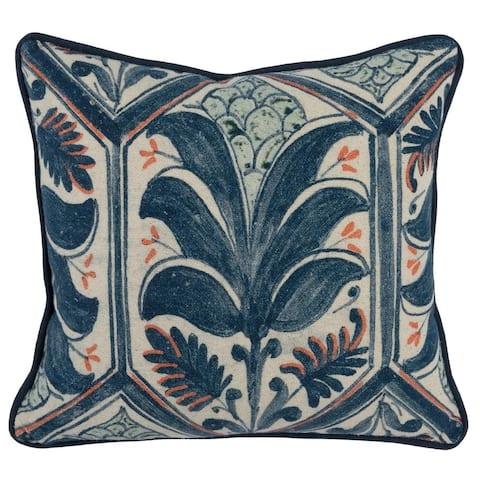 Kosas Home Castillo 100% Cotton 18-inch Throw Pillow
