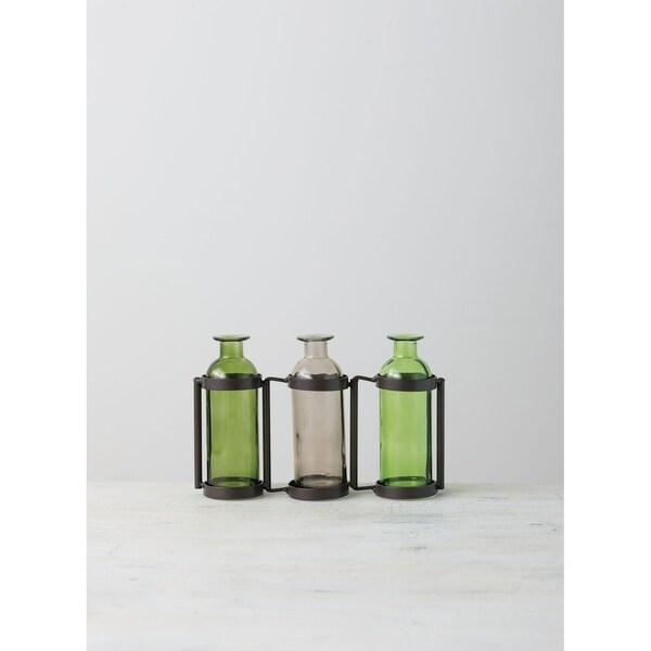 Three Bottle Vase