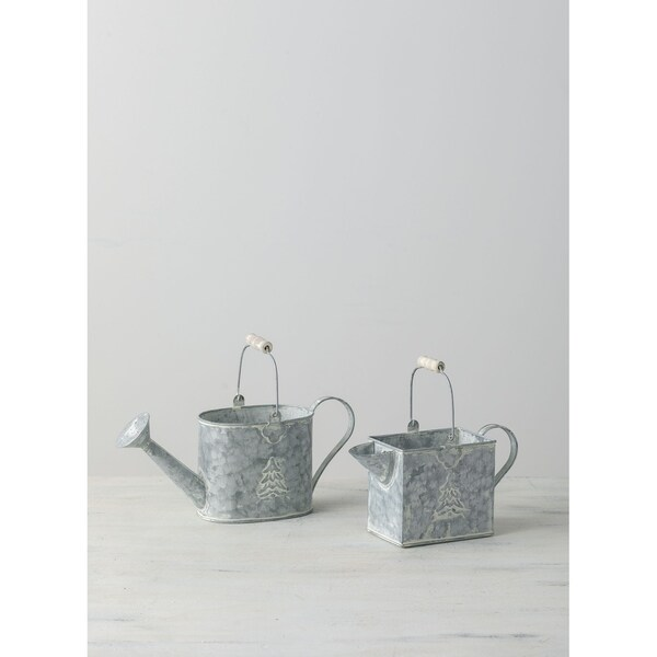 Mini Water Can Planter - Set of 2
