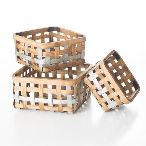 Bushel Basket - Set of 3
