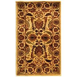 Safavieh Handmade Classic Jaipur Gold Wool Rug (2' x 3')