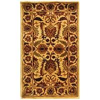 Safavieh Handmade Classic Jaipur Gold Wool Rug - 2' x 3'