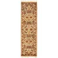 Safavieh Handmade Classic Jaipur Gold Wool Runner (2'3 x 10')