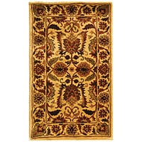 Safavieh Handmade Classic Jaipur Gold Wool Rug (3' x 5')