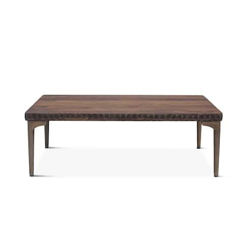 Vallarta 48-Inch Two Tone Mango Wood Coffee Table