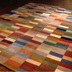 Safavieh Handmade Rodeo Drive Modern Abstract Multicolored Rug (8' x 10') - Thumbnail 1