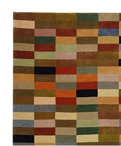 Safavieh Handmade Rodeo Drive Modern Abstract Multicolored Rug (8' x 10')