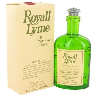 Royall Lyme Men's 8-ounce All-purpose Lotion/ Cologne